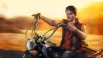 daryl_dixon___highway_to_hell_by_eneada-d5yjfai