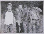 the_walking_dead__chupacabra_by_acaroline05-d4y6ql3
