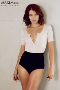 """The Walking Dead"" - Lauren Cohan Covers ""Maxim"""
